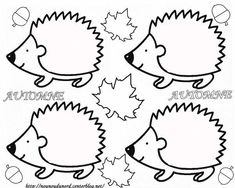 Nice to tinker with a hedgehog. For example, with autumn leaves or with … – Knippen A Hedgehog, Old Candles, Coloring Pages For Kids, Fall Crafts, Autumn Leaves, More Fun, Preschool, Painting, Recherche Google