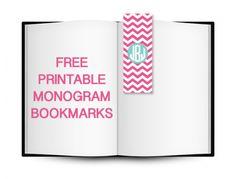 free-printable-monogram-bookmarks-chevron
