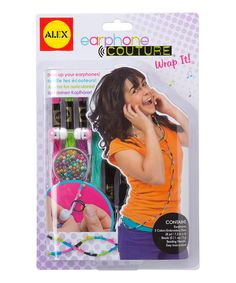 Another great find on #zulily! Wrap It Earphone Couture Set by ALEX #zulilyfinds