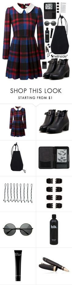 """""""SheIn 10"""" by scarlett-morwenna ❤ liked on Polyvore featuring Cole Haan, BOBBY, Forever 21, Bobbi Brown Cosmetics, OMAS and Hring eftir hring"""