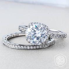 "This stunning Tacori engagement ring will make anyone say ""Yes"" #ArthursJewelers"