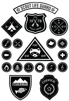 Printables : des badges Scout à télécharger