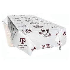 Texas A&M Aggies NCAA Twin Pack Table Covers (2 Covers)