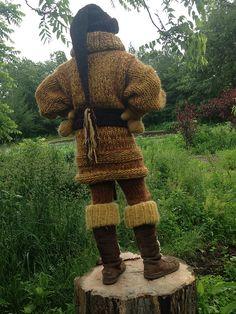 Ravelry: KayGirlsKnitter's My Big Yellow Mohair Sweater Set