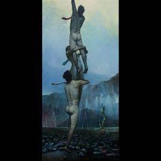 "Krzysztof Powałka on Instagram: ""SOLD!! 💓☺️ ""Corpo-Ratio""_80x38cm_ oiloncanvas_2016 . . . Ech te korporacje. . .😔✌️ . #kpowalka #art #contemporaryart…"" Statue Of Liberty, Teak, Paintings, Nice, Instagram, Art, Statue Of Liberty Facts, Art Background, Paint"
