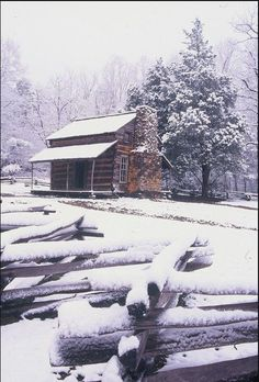 Cades Cov in the winter. http://www.pantherknobcottages.com
