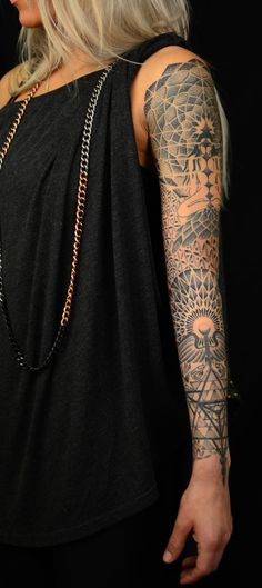 Andy Cryztalz #tattoo #ink #sleeve