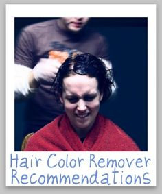 how to get rid of permanent black hair dye
