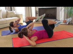 Working Your Core: Eight-Minute Ab Workout - Health & Fitness - ModernMom - YouTube