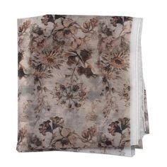 Peach And Green, Times Of India, Party Wear, Pink Flowers, Printing On Fabric, Digital Prints, Gray Color, Silk, Cream