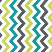 I'm loving the colours in this #chevron print!