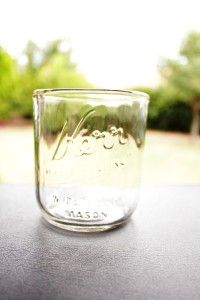 Upcycle Mason Jars - Glass Cups | Redesign Revolution