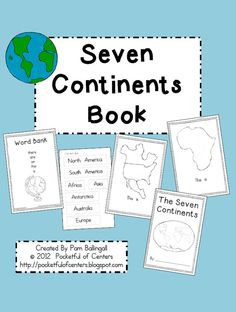 The Seven Continents Emergent Reader