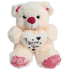 Love Teddy with I Love You