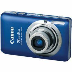 Amazon.com: Canon PowerShot ELPH 100 HS 12.1 MP CMOS Digital Camera with 4X Optical Zoom (Blue): Camera & Photo