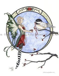 HOLIDAY-WINTER - Amy Brown Fairy Art - The Official Gallery