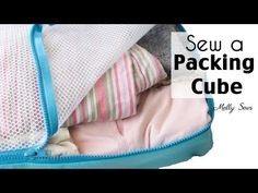 How to Sew and Use Packing Cubes - YouTube