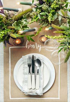 simple thanksgivnig table setting #thanksgivingtable #thanksgiving