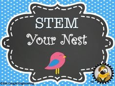 STEM YOUR NEST or (Are your students better engineers then a bird?)Birds are amazing engineers. Now it is your students' turns. In this Engineering Energizer, they will use their STEM skills to build a nest.Perfect for grades 1-6 when you need a quick STEM activity that can integrate into environmental or animal science units.