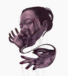 Imaginative drawing by Korean artist Spunky Zoe!