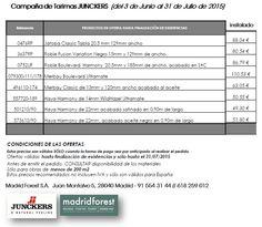 #Oferta de verano de #Tarima maciza #Junckers