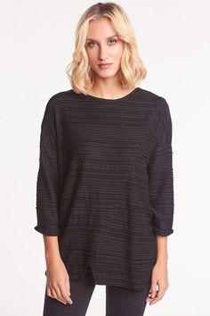 Bluzka BANRI czarna - bluzy - Pakamera.pl Tunic Tops, Pink, Women, Fashion, Moda, Rose, Women's, Fasion, Roses
