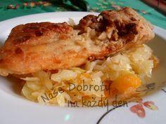 Dehtářův pikantní kapr Fish Recipes, Chicken, Diet, Pisces, Cubs