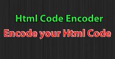Html code Encoder