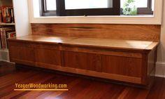 built in window bench