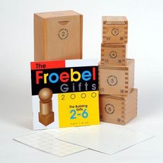 The Froebel Gifts 2-6 with Instruction Manual by Froebel USA