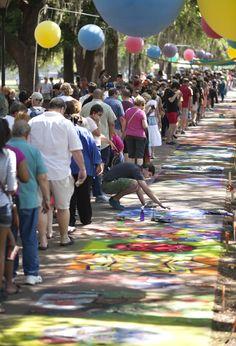SCAD Sidewalk Arts Festival 2012