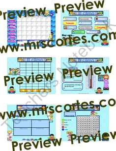 EASITEACH Calendar Math- Junio (Spanish) from Mrs.Cortes'TeacherResources on TeachersNotebook.com -  (15 pages)  - A Monthly Themed Calendar Math (English or Spanish) designed for EASITEACH users  that targets and reinforces different math skills.