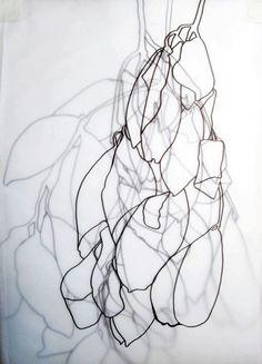 Layered Plant Drawing