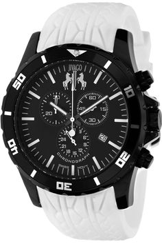 Black and white look so good together! Especially on this Jivago watch