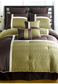 Bedspread on pinterest comforter sets bedspreads and - Green and brown comforter ...