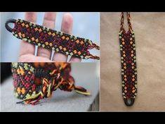 hola amigos hoy les enseño como hacer esta bonita pulsera con patron espero les guste ... link del patron https://www.facebook.com/TheArtemanual/photos/a.308...