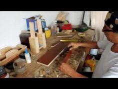 Plantilla para tarugos en madera - YouTube
