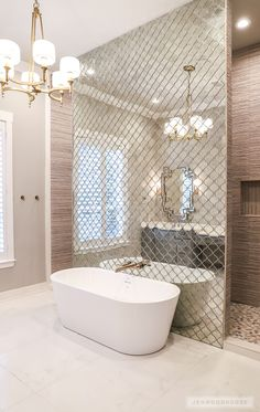 2018 Parade of Homes, Waco, TX Design: Bhayani Brothers Custom Homes Photo: Jen . 2018 Parade of Homes, Waco, TX Design: Bhayani Brothers Custom Homes Photo: Jen Woodhouse Dream Bathrooms, Beautiful Bathrooms, Timeless Bathroom, Classic Bathroom, Luxury Bathrooms, Master Bathrooms, Master Bedroom, Style At Home, Decor Interior Design