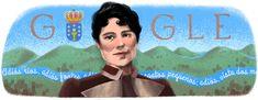 178º aniversario del nacimiento de Rosalía de Castro