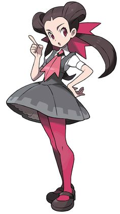 Roxanne - Characters & Art - Pokémon Omega Ruby and Alpha Sapphire