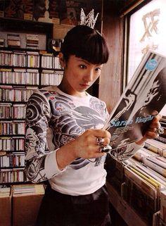 椎名林檎 Aesthetic Japan, Japanese Aesthetic, Retro Aesthetic, Driver Film, Shiina Ringo, Cool Kidz, Pastel Punk, Face Study, Tomboy Chic