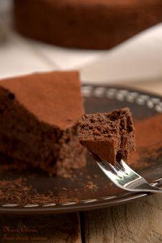 Le meilleur fondant au chocolat du monde... (Recette à IG bas à condition de pas tout manger d'un coup!)