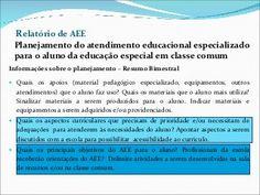 Orientações sobre avaliação do aluno da Educação Especial