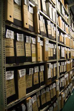 Archivio della Regione Liguria, Genova. Sala consultazione dell'Archivio Storico della Regione Liguria - Via Rigola, 3 (foto: Alberto Boz)