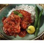 Chicken thighs con picante sauce
