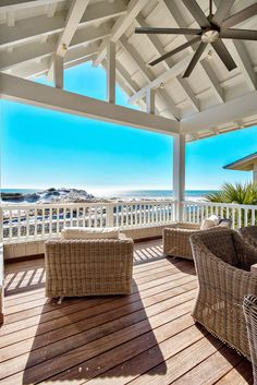 Archiscapes *sigh* Can you even imagine? I knew right away when I saw this home that it was located in WaterSound, the idyllic coastal community along in Florida inspired by the architectural styles of Ca… House Design, Cottage, House, Cottage Style, House Exterior, House Styles, Beach Cottage Style, Beach Cottages, Beach House Design
