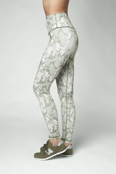 fb1b648c24678 DYI High Waisted Camo Print Full Length Leggings Camo Print, Dyi