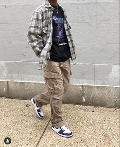 Street Style Outfits Men, Black Men Street Fashion, Stylish Mens Outfits, Mode Outfits, Retro Outfits, Casual Outfits, Moda Streetwear, Streetwear Fashion, Tomboy Fashion