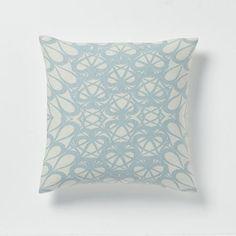 """Allegra Hicks Kaleidoscope Hemp Pillow Cover, 20""""sq, $24.99"""