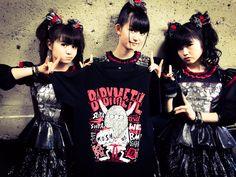 本日18:10〜WHITE STAGE @fujirock_jp に@BABYMETAL_JAPAN 降臨DEATH!!Tシャツもオフィシャルグッズ売り場にて販売中!! #フジロック #fujirock  #BABYMETAL